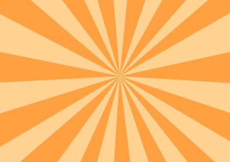 Orange Rays Background Image