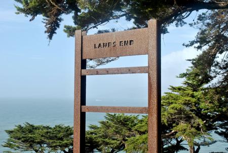 Lands End, San Francisco, California, USA 스톡 콘텐츠