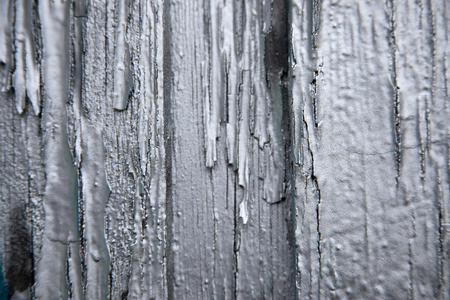 chipping painted wall in gray, great background for designers