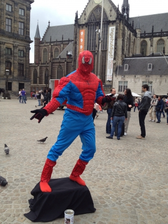 spiderman: Spiderman in Amsterdam