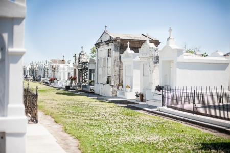 cemetery in New Orleans photo