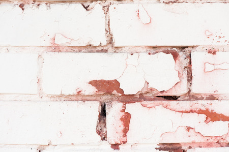 close up texture of old painted brick Reklamní fotografie