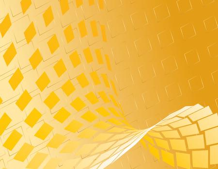 ゴールドの抽象的な背景。ベクトル。
