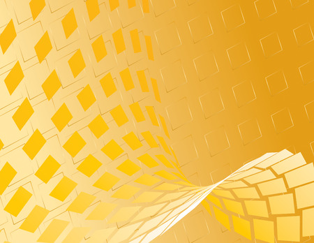 Gold Abstract Background. Vector. Standard-Bild - 3639134