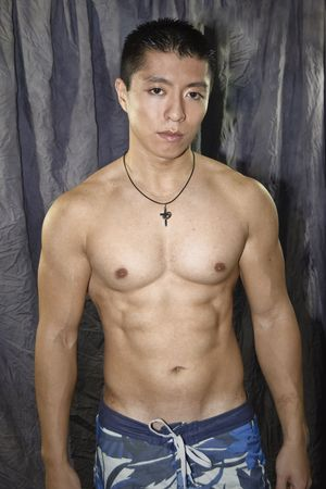 Asian Male Athlete