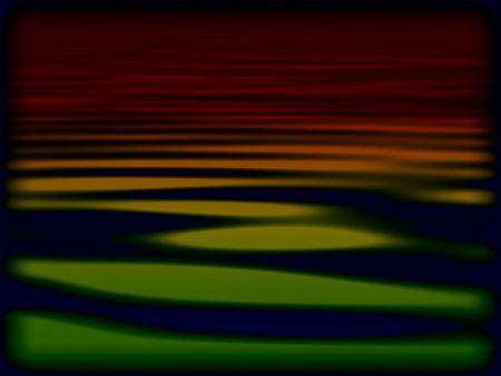 暗いラスター波背景