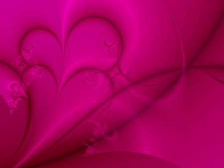 romantic: Dark Pink Valentine Background