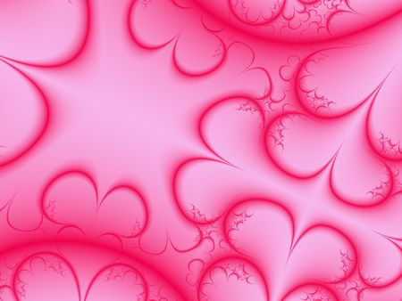 Pink Hearts Background photo