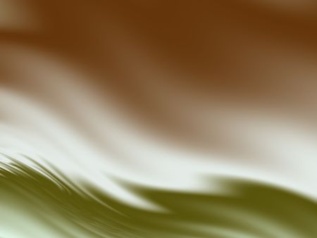 Abstract Wavy Background in Olive and Burnt Sienna Фото со стока