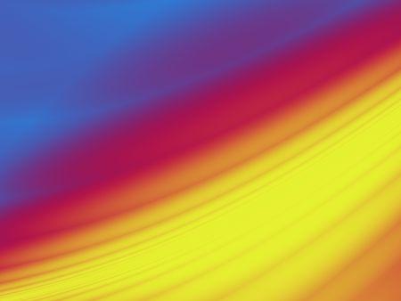 Rainbow Tide Achtergrond Stockfoto