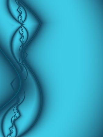bright: Abstract Turquoise Background