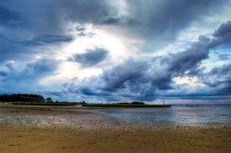 Dramatic Heavens Stock Photo
