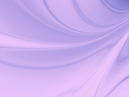 Abstract Curvy Background in Lilac