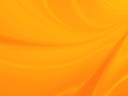 Abstract Curvy Background in Orange