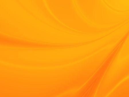 Background Curvy astratto in Orange Archivio Fotografico - 6308815