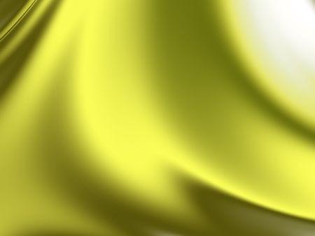 Yellow Silk Background Stock Photo