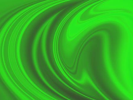 Green Swirl Background Stock Photo
