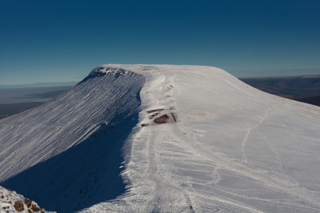 brecon beacons: Pen y Fan, the highest peak on the Brecon Beacon mountains in South Wales, UK