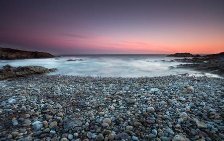 Limeslade Bay op het schiereiland Gower dichtbij Mumbles Head en Bracelet Bay, Swansea.