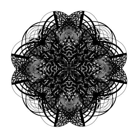 ancient ireland celtic cross: Celtic and irish knot ornamental cross, vector illustration Illustration