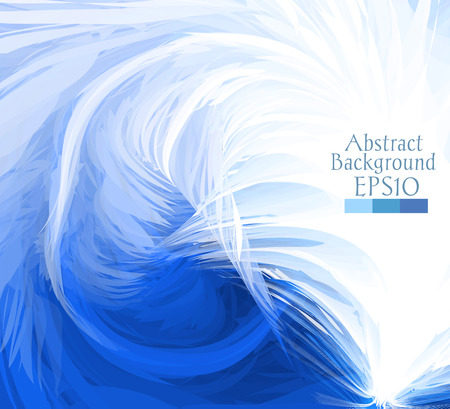 diffusion: Macro feathers. The abstract background drawn with a brush feather. Can be used for web pages, identity style, printing, invitations, banners, cards, leaflets, cover. Vector illustration