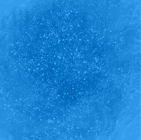 bleb: Blue abstract background with lots of bubbles. Vector illustration