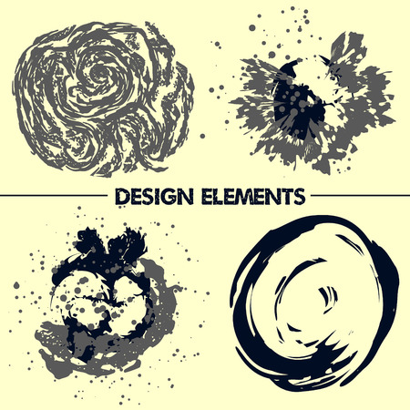 detritus: Abstract elements for your design.