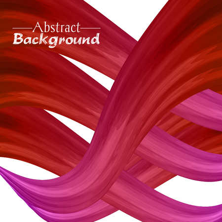 ductile: Creative abstract background for your design. Vector illustration. Red and pink colors Illustration