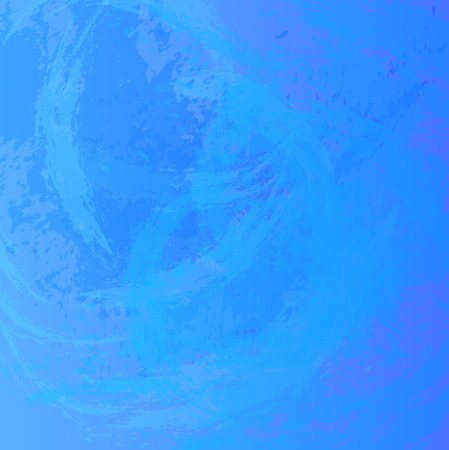 painted wall: Abstract background. The surface stained with paint. Carelessly painted wall.  Vector illustration. Blue colors Illustration