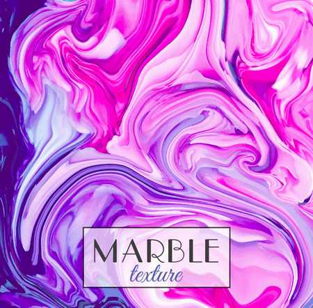 Marble texture. Vector abstract colorful background. Ilustracja