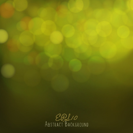 festive: Abstract bokeh background. Festive lights. Illustration