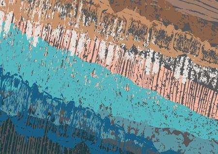Creative abstract textured background. Colorful daub. Retro design. Art.