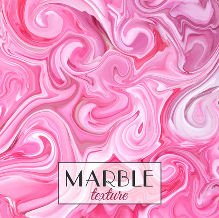 Marbling. Marble texture. Vector abstract colorful background. Paint splash. Colorful fluid. It can be used for design packaging, card, cover. Vector illustration, eps10 Ilustração
