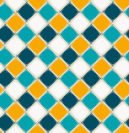 Ornamento geométrico simples com padrão sem emenda de losangos Foto de archivo - 94483112