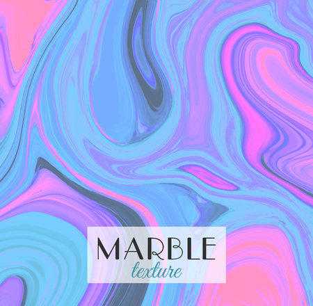 Marble texture. Artistic abstract colorful background. Bright colors Vector illustration