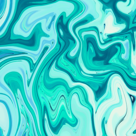 Marbling. Marble texture. Artistic abstract colorful background. Splash of paint. Colorful fluid. Bright colors. Can be used for design packaging, card, cover, invitation. Vector illustration, eps10 Illustration