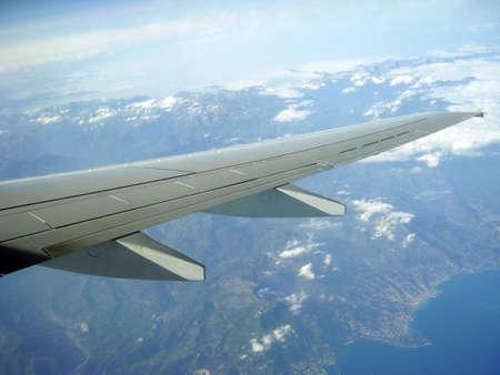 Skrzydle samolotu Zdjęcie Seryjne