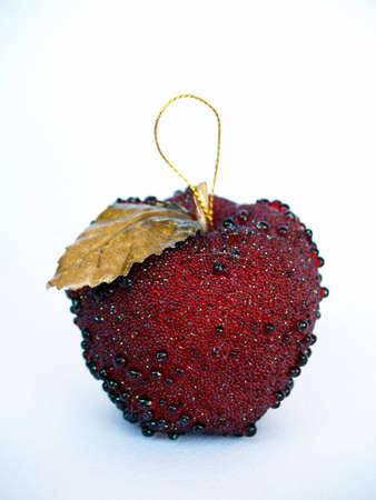 christmas apple: natale mela Archivio Fotografico