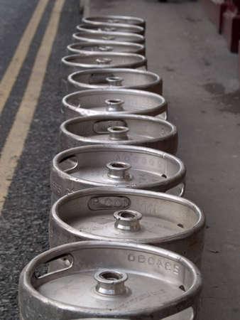 kegs of beer       photo