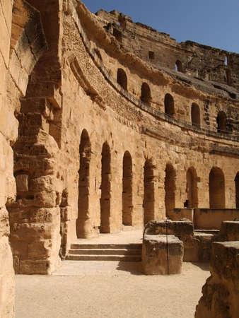 amphitheatre: Roman amphitheatre,Tunisia