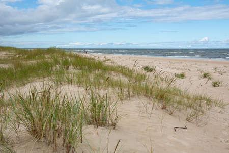 view to Baltic sea at Kolka village, Latvia.