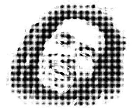 Bob Marley Artistic Editorial