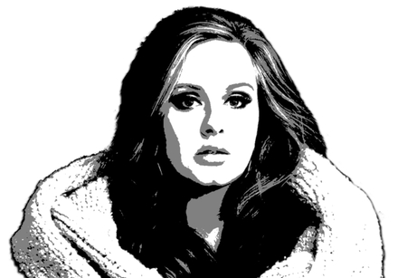 Editorial Illustration Adele