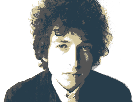 Editorial Illustration Bob Dylan