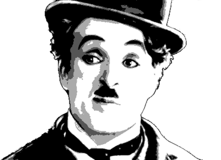 Editorial Illustration Charles Chaplin
