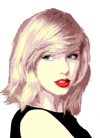 Editorial Illustration Taylor Swift