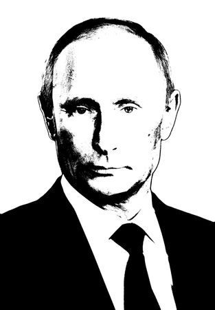 Editorial Illustration Vladimir Putin