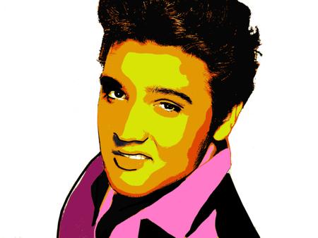 Redactionele Illustratie van Elvis Presley