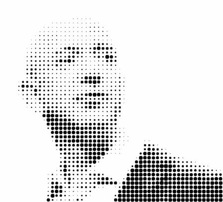 Editorial Illustration of Jeff Bezos Stockfoto - 101161953