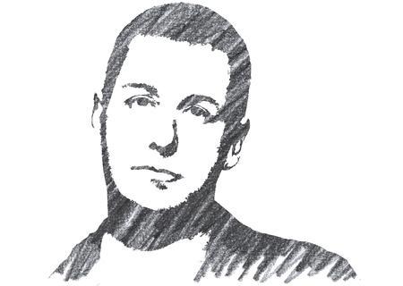 Pencil Illustration of Adam Sandler Editorial